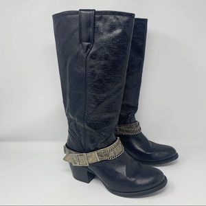 Durango Philly Western Cowgirl Victorian Boots 7